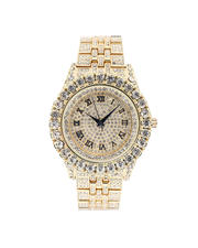 Jewelry & Watches - Solitaire Bezel X Roman Watch-2487086