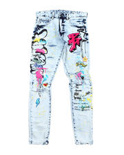 Jeans & Pants - Slim Graffiti Jean-2487764