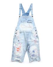 Jeans & Pants - Denim Cargo Overalls-2487801