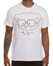 Hustle Gang - Gambia SS Embroidered Knit Tee-2487618