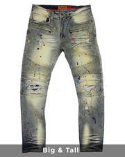Big & Tall - Super Sauce Biker Jeans (B&T)-2482086
