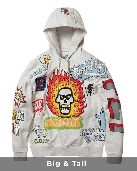 Born Fly - Ornate Pullover Hoody (B&T)