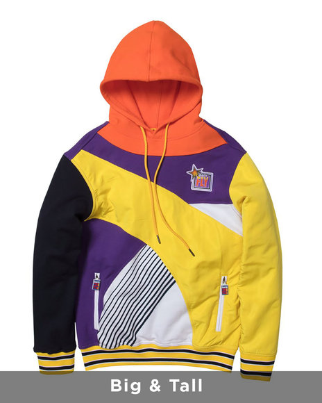 Born Fly - Football Pullover Hoody (B&T)
