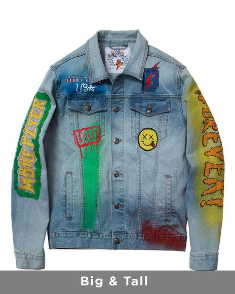 Born Fly - Sporty Denim Jacket (B&T)