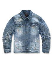 Jordan Craig - Paint Splatter Denim Jacket-2486140