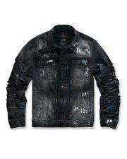 Jordan Craig - Paint Splatter Denim Jacket-2486167