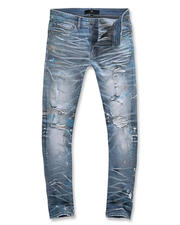 Going-Out-Outfits - Sean Fit Monet Paint Splatter Jean-2486274