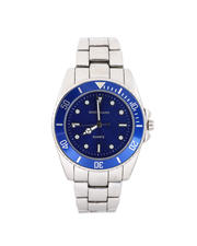 Jewelry & Watches - 45MM Diving Bezel Metal Band Watch-2487070