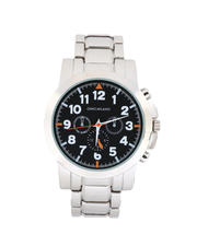 Jewelry & Watches - 45MM 3-Eye Metal Band Watch-2487114