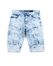 SMOKE RISE - Engineered Denim Short-2487733