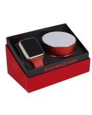Jewelry & Watches - Touch Screen Watch & Wireless Speaker Set-2489601