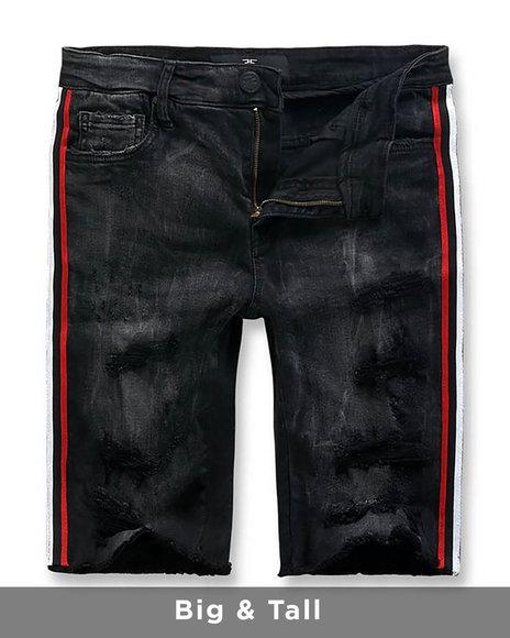 Jordan Craig - Side Stripe Denim Shorts (B&T)