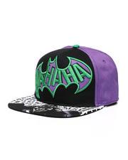 Hats - Joker Batman Snapback Hat-2488133