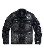 Denim Jackets - Paint Splatter Denim Jacket-2486140