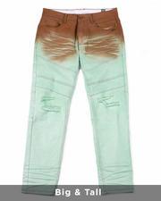 Big & Tall - Jason Dip Dye Stretch Denim Jeans (B&T)-2489210