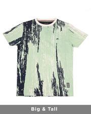 Big & Tall - Baxter Short Sleeve Rotary Printed T-Shirt (B&T)-2489252