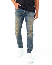Mens-Holiday - Sean Fit Blown Out Knee Jean-2486307