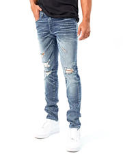 Mens-Holiday - Sean Fit Blown Out Knee Jean-2486346