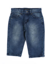 Arcade Styles - Stretch Denim Shorts (8-18)-2487087