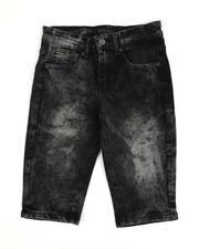 Arcade Styles - Cloud Wash Denim Shorts (8-18)-2487122