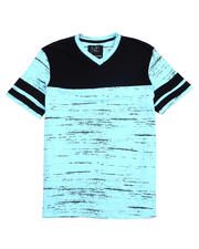 Buyers Picks - Colorblock V-neck Tee-2487475