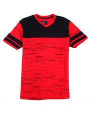 Buyers Picks - Colorblock V-neck Tee-2487480