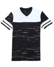 Buyers Picks - Colorblock V-neck Tee-2487485
