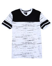 Buyers Picks - Colorblock V-neck Tee-2487490