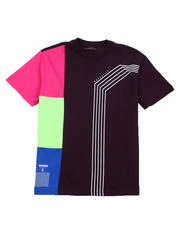 Buyers Picks - Rubber Print Colorblock Tee-2487407
