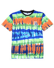 Buyers Picks - Tie Dye Sublimation Tee w Rubber Stamp-2487421