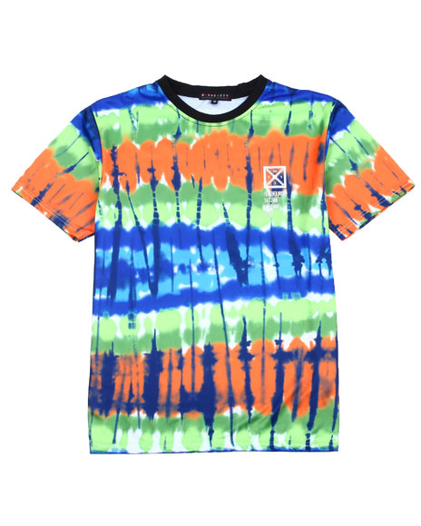 Buyers Picks - Tie Dye Sublimation Tee w Rubber Stamp