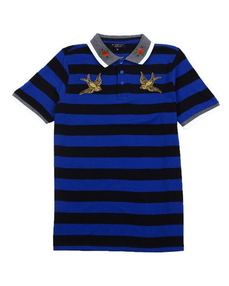 Buyers Picks - Swallow Bird Stripe Polo
