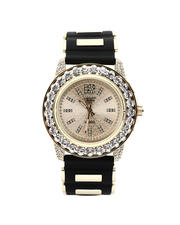 Men - 44MM Iced Out Bullet Band Watch-2487995