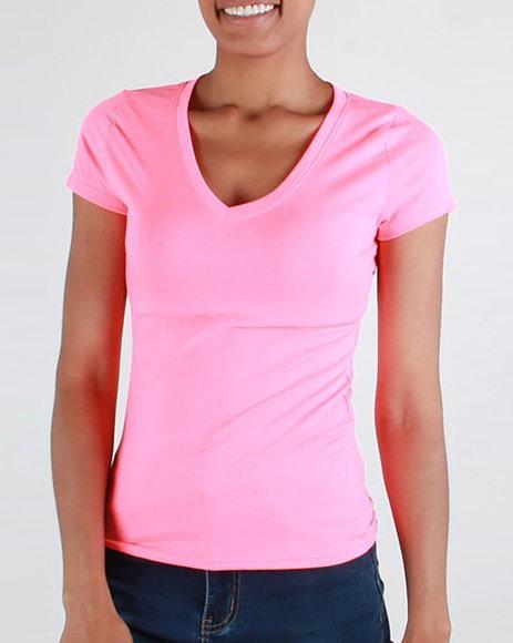 Red Fox - S/S V Neck T-shirt