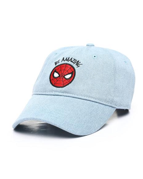 Buyers Picks - Spiderman Be Amazing Denim Dad Hat