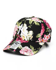 Dad Hats - New York Yankees Floral Clean Up Cap-2490137