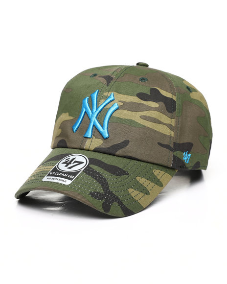 '47 - New York Yankees Camo Clean Up Cap