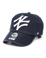 Dad Hats - New York Yankees Tilted Clean Up Cap-2490151
