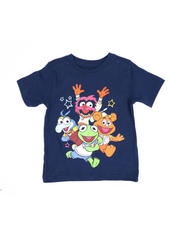 Sizes 2T-4T - Toddler - Muppet Babies Characters Tee (2T-4T)-2489421