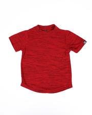 Boys - Melange Scoop Bottom T-Shirt (4-7)-2489641