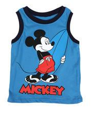 Boys - Mickey Surfer Muscle Tee (4-7)-2490209