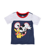 Disney - Mickey and Pluto Tee (4-7)-2490214