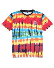 Stylist Picks - Tie Dye Sublimation Tee w Rubber Stamp-2486013