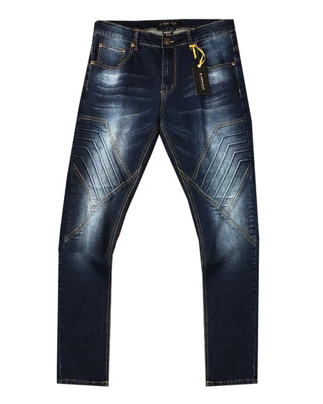 Buyers Picks - 3D Embossed Cut and Sew Stretch Jean