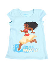 Disney - Moana One With The Waves Tee (4-6X)-2488162