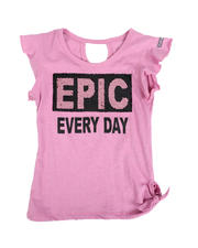 Girls - Epic Every Day Flip Sequins Top (4-6X)-2490431
