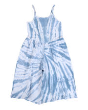 Overalls & Jumpers - Lala Tie Dye Jersey Cropped Jumpsuit (7-16)-2490492