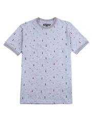 Buyers Picks - All over Light House Print Tee-2489076