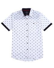 Mens-Holiday - Floral Ss Woven Shirt-2489116