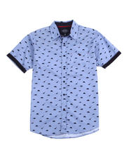 Mens-Holiday - All over Dino SS Woven Shirt-2489126